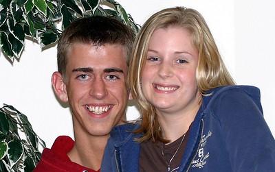 Laura and Joe (I hope I remembered correctly!)