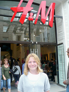 Shopping at H&M