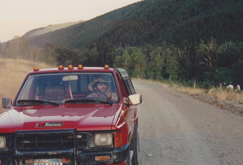 1991 Lazy K Bar Montana Shorty driving