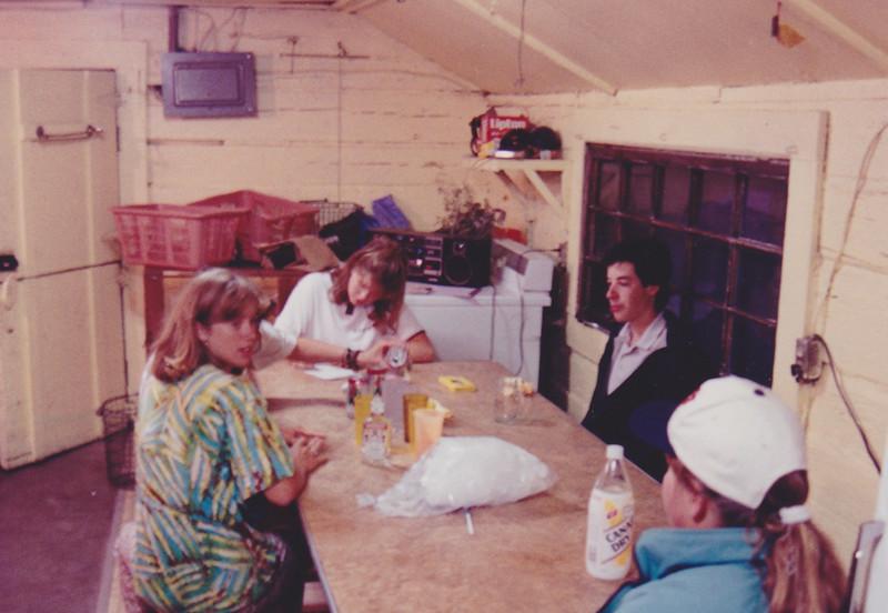 1991 Lazy K Bar Montana in the laundary