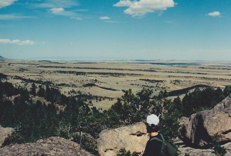 1991 Lazy K Bar Montana John out hiking