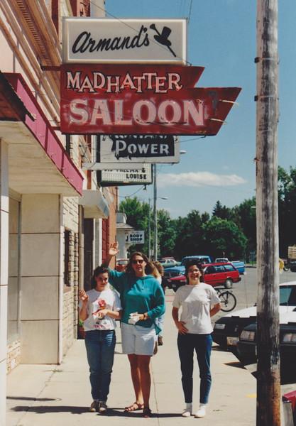 1991 Lazy K Bar Montana Jennifer Diane and Tracey