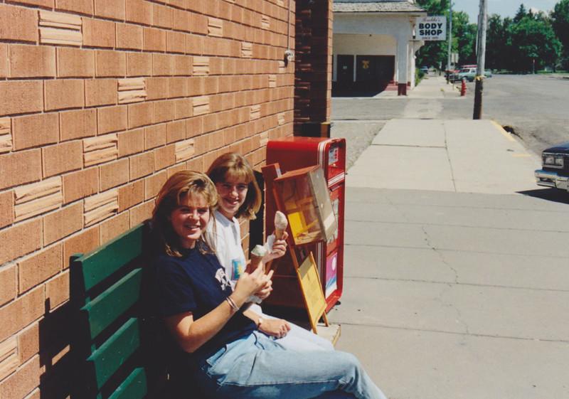 1991 Lazy K Bar Montana Sarah and Wendy