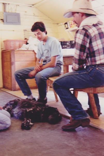1991 Lazy K Bar Montana Noam and Steve
