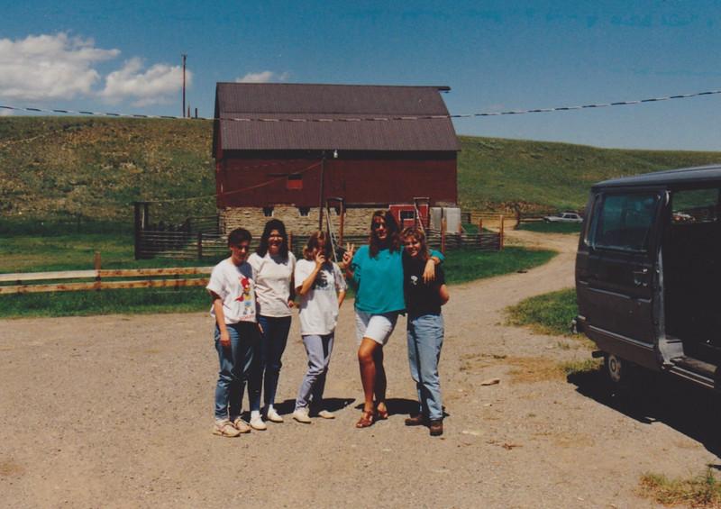1991 Lazy K Bar Montana ranch women