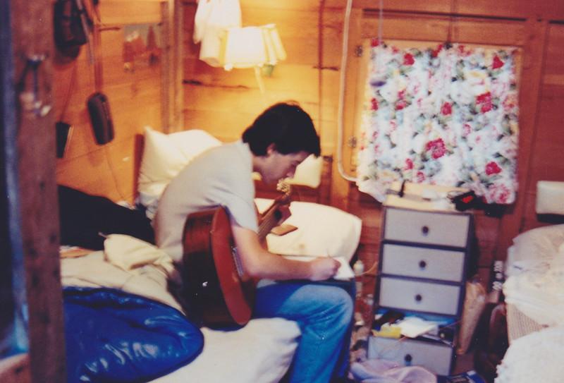 1991 Lazy K Bar Montana Noam on guitar