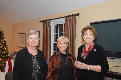 Marge Blessing, Evelyn Akin, Linda Sweeney