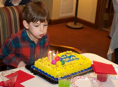 Leo's 8th Birthday 2012