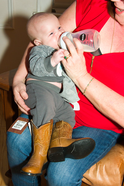 Nash is loving his new boots