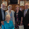 Michael Hopkins, Lillian, Julia, Maureen and Joe Pascal