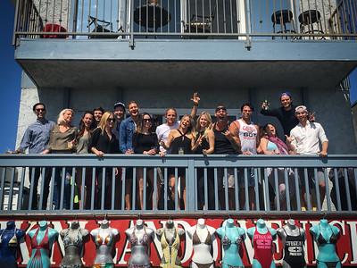 Lina's Birthday.  Venice, California.  Photo by VenicePaparazzi