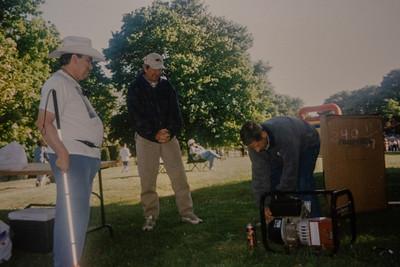 Lions Club Popcorn Sale 2001