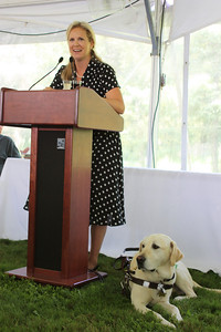 Amy Dixon ~ Guiding Eyes for the Blind Graduate with her dog Elvis.  https://www.guidingeyes.org/prospective-students/guide-dog-services/student-experience/testimonials/amy-dixon-and-elvis/