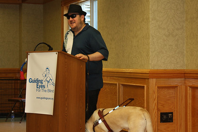 Guiding Eyes for the Blind Graduate Brian Fischler and Nash