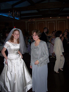 Liz and her mom.  Two lovely ladies.