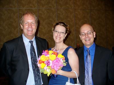 Dennis, Elizabeth, and Aaron
