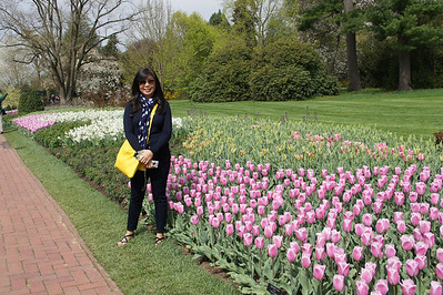 Longwood Gardens with Antonette Apr 24