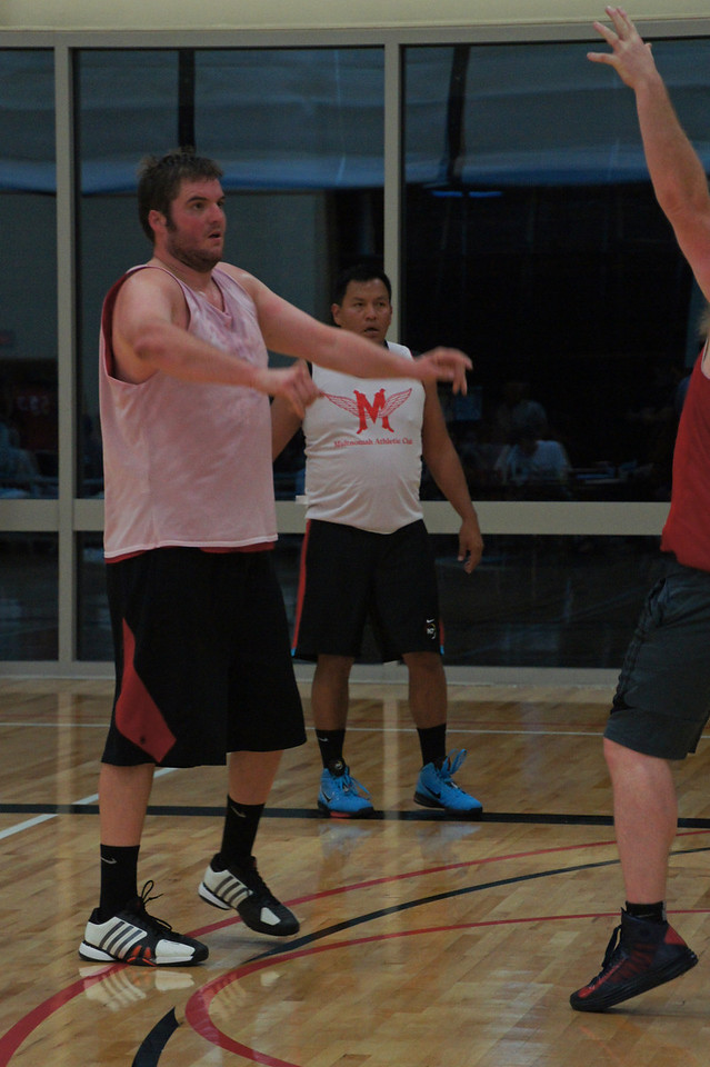 Carsten Shoots a Three