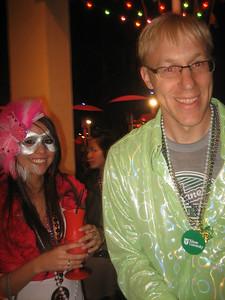 Jeff Williams, BS'92 hosted Long Beach Mardi Gras