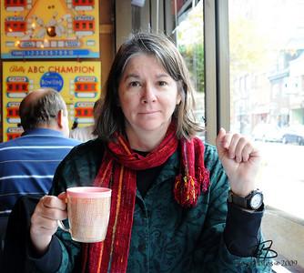 Ooooooo, I'm having coffee in Portsmouth, New Hampshire!