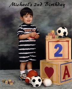 Michael Joseph Lombardi.......he's 2!