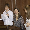 Amy & John's rehearsal dinner (10/05): Lucy, Maria & Grazia