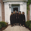 **UNFORTUNATE SIGNAGE** Graduation day at Denison University (5/94): Maria, Christy, Lucy, Amy & Grazia.