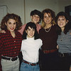 Lucy's 22nd Birthday (3/7/94): Grazia, Maria, Lucy, Christy & Amy.