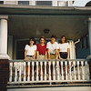 Reunion in Cleveland, OH  (6/95): Maria, Grazia, Lucy & Amy