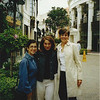 Posing on Rodeo Drive (4/02): Maria, Grazia & Lucy.