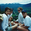 At the top of Little Si (5/00): Maria, Lucy, Grazia & Amy.