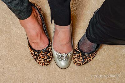 Lori, Edie, Judy feet.
