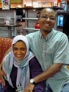 Rajaa and Ibrahim