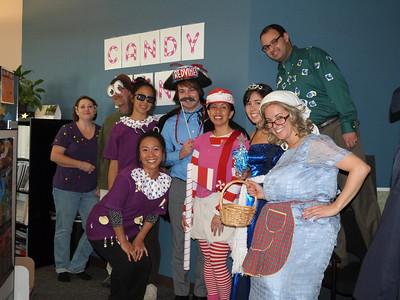 The Candy Land Crew Stephanie, Steve, Kana, Chisa, Josh, Mimi, Rebecca, Jafar, and Valerie