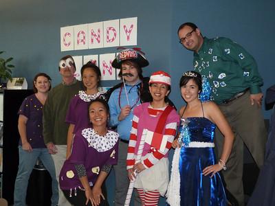 The Candy Land Crew Stephanie, Steve, Kana, Chisa, Josh, Mimi, Rebecca, and Jafar