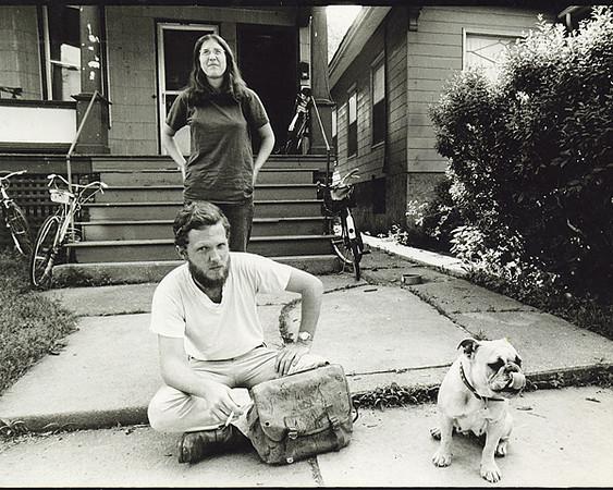 Dave Nance, Karen _____; circa 1972 (photo by Dave Lewane?)