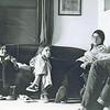 Betsy Lawrence, Kate Gyllensvard, Cathy Roma; April 1975