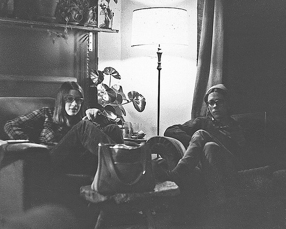 Ann Rupel and David Anderegg; January 1975
