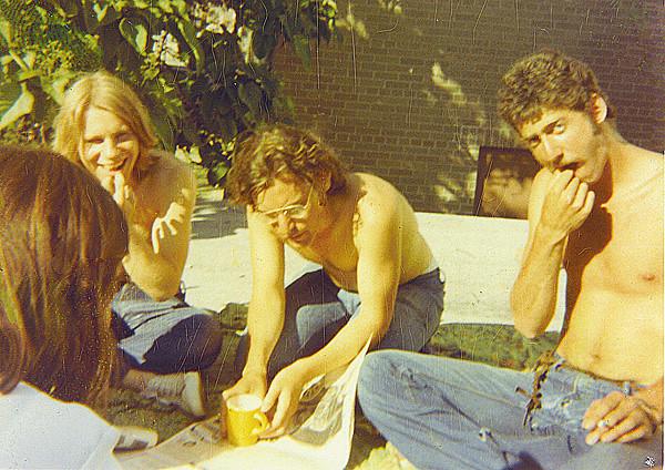 Dave Lewane, Tony Smull, Dan Schiller; May 1971