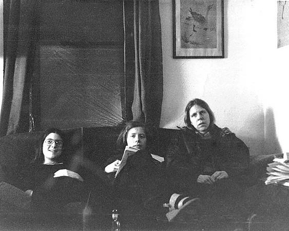 Cathy Roma, Wendy Maraniss, Kate Gyllensvard; April 1975