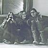 Betsy Lawrence (w. Milton), Ann Rupel, and David Anderegg; February 1975
