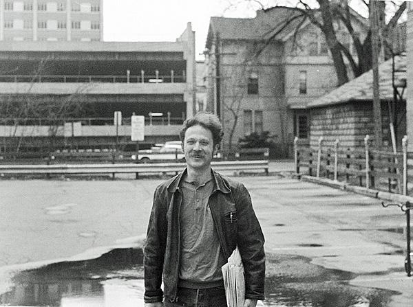 Dave Nance; April 21, 1974 (photo by Betsy Lawrence)