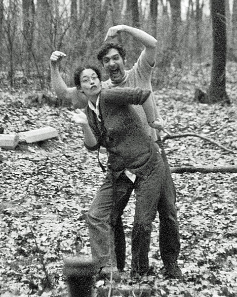 Nancy Erickson and Steve Freedman; circa 1974