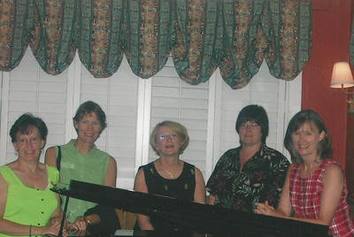 "Magnolias at Surfside singing ""What a Friend we have in Jesus"" 6/05"