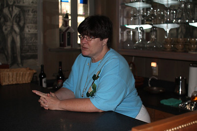 at home in the bar
