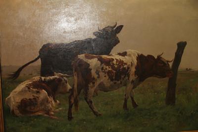 Melanie likes cows