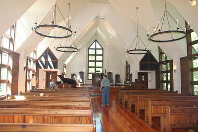 inside Charlos Chapel at The Cove