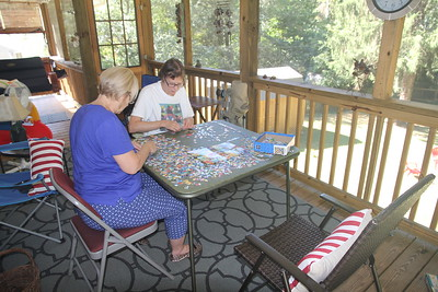 puzzle/Mexican Train table