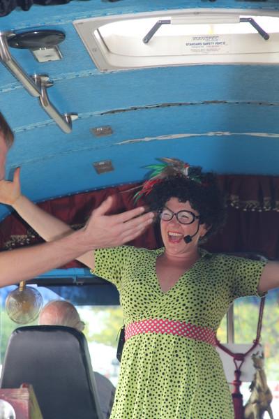 our guide, Rhonda Corner