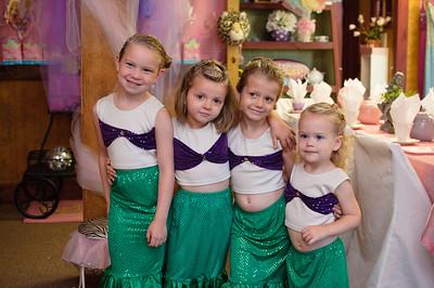 Mahayla's Mermaid Birthday party